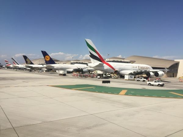 A380 line BA-AF-SQ-LH-EK